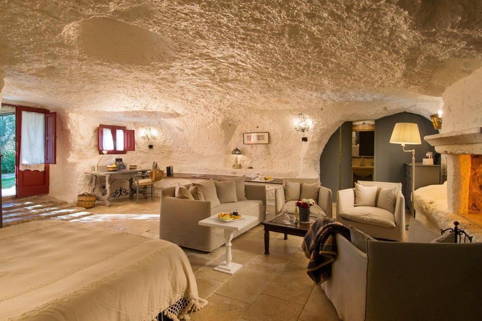 Junior cave suite at MASSERIA TORRE COCCARO