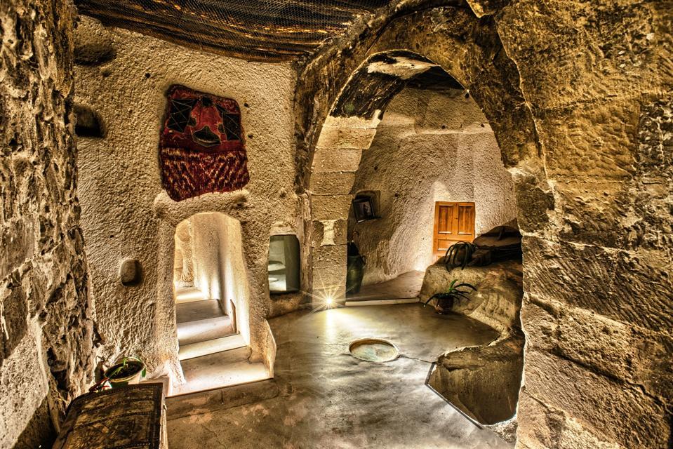 Cave suite at Museum Hotel