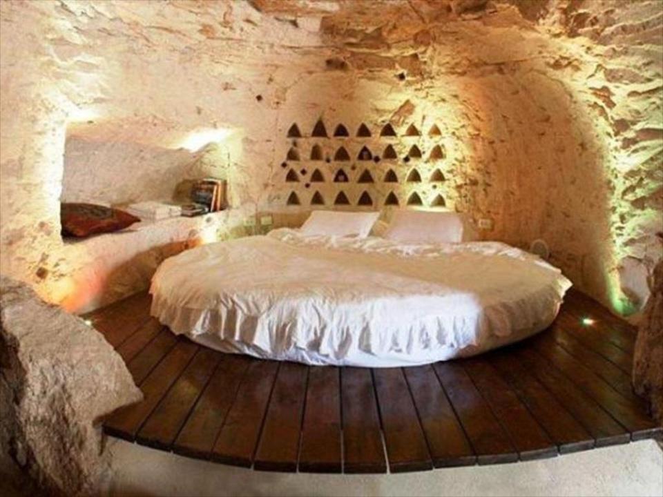 Cave suite at Columbarium Hotel