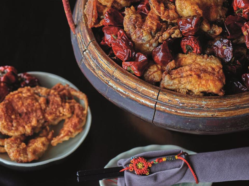 Hutong's food is always beautifully presented