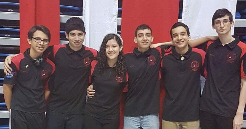Student robotics team
