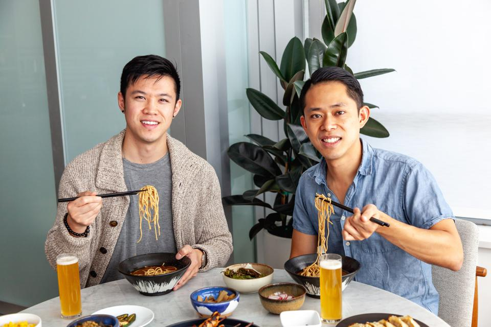 KChan (left) and KLee (right) are the co-founders of immi.