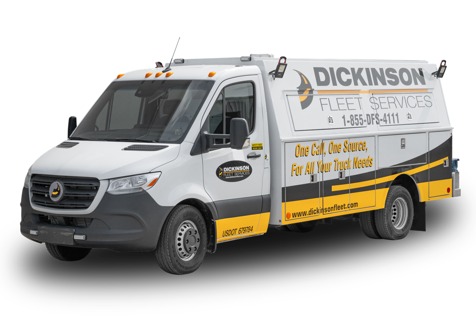 Dickinson Fleet Services is based in Indianapolis, Ind.