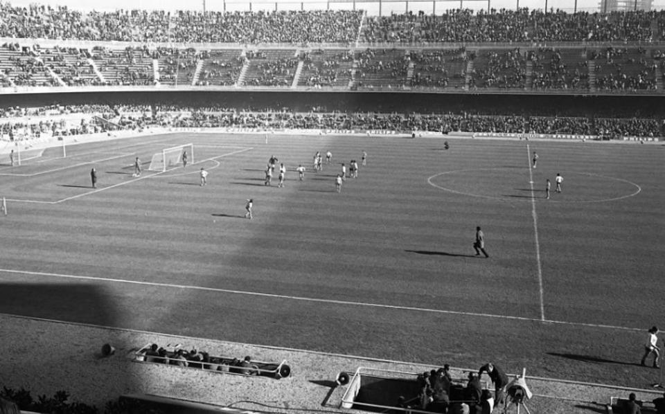 60,000 were at Camp Nou on Christmas Day 1970 to watch a Barcelona women's team play.
