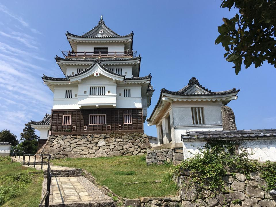 Hirado Castle isn't new, but this is the first year that it will host guests as a boutique hotel