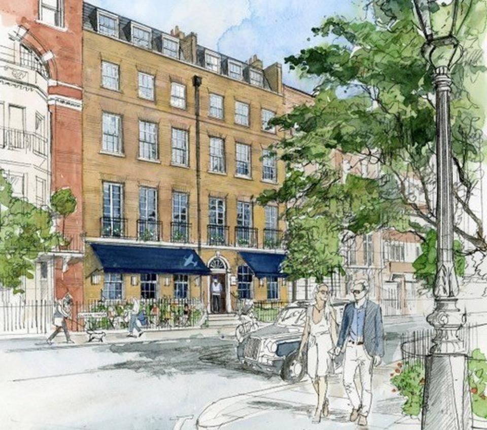 Beaverbrook Townhouse is one of several new townhouse hotels coming to London in 2021