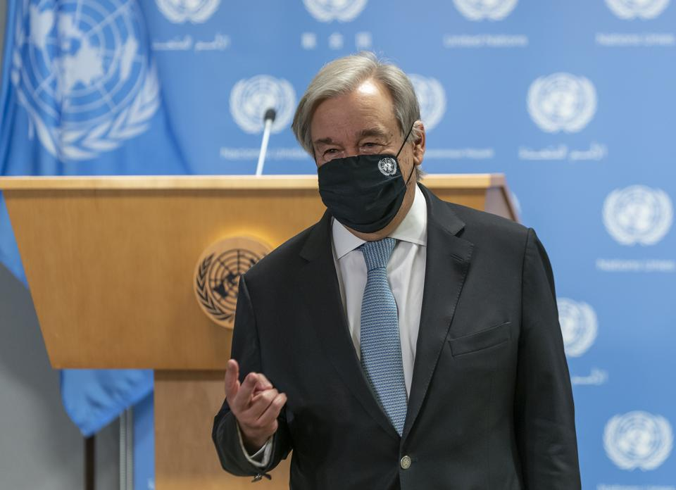 UN Secretary-General Antonio Guterres could mandate all UN agencies to have a Freedom of Information Policy. Currently only half the UN agencies have this.