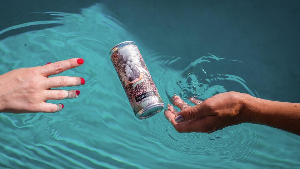 Canned wine brand Nomadica