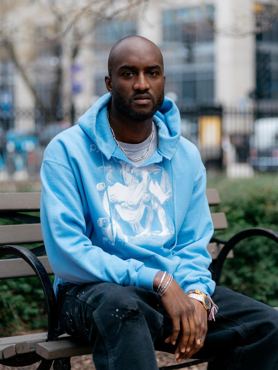 Virgil Abloh at the Museum of Contemporary Art Located in Chicago.