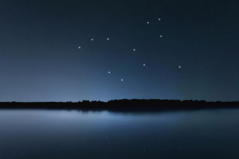 Lepus star constellation, Night sky, Cluster of stars, Deep space, Hare constellation