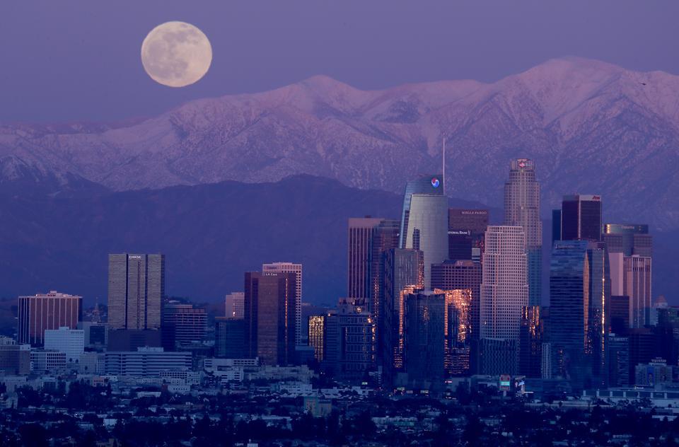 Full Moon Los Angeles