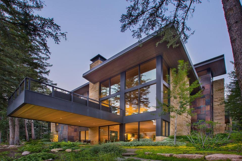 A luxury home in Colorado.