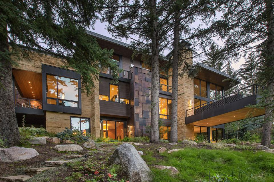 A contemporary home in Vail, Colo.