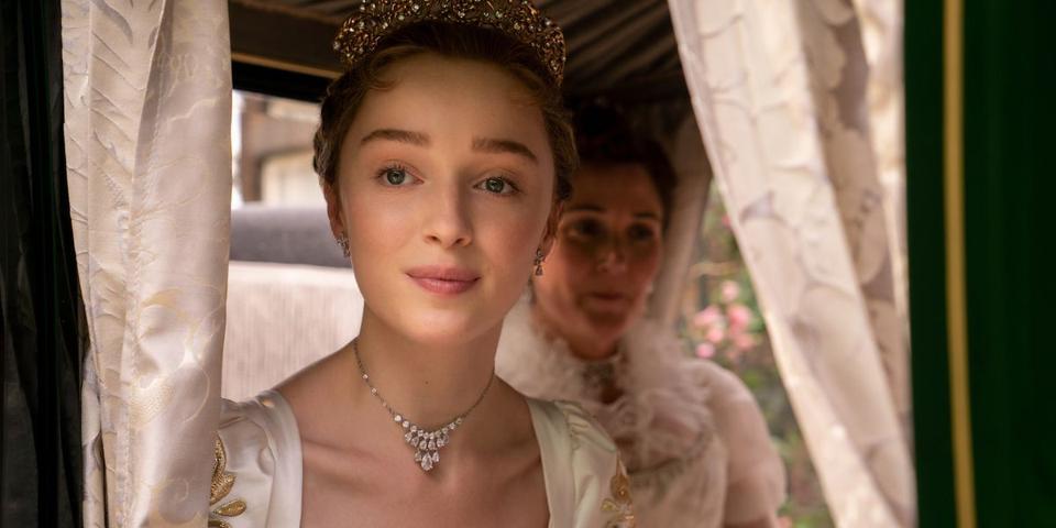 Phoebe Dynevor in Netflix hit series Bridgerton
