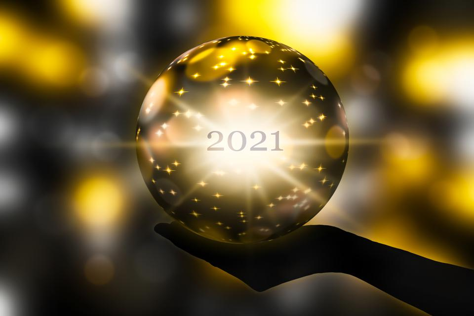 crystal ball time - prediction for new year 2021