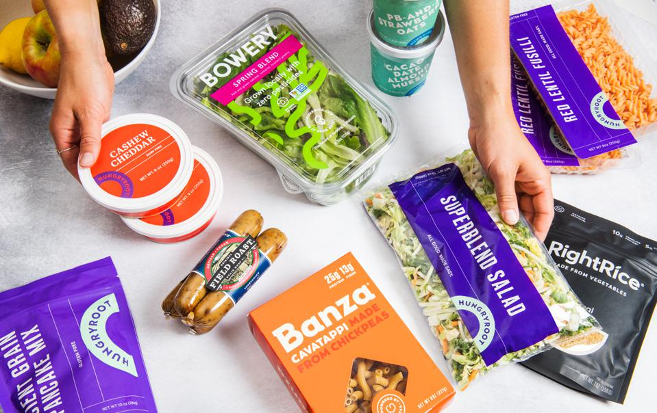 Hungryroot delivers fresh and organic groceries based on consumers dietary, meal planning and timing preferences.