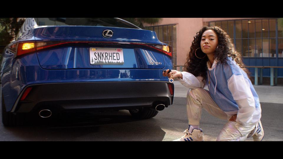 New Lexus IS ad.
