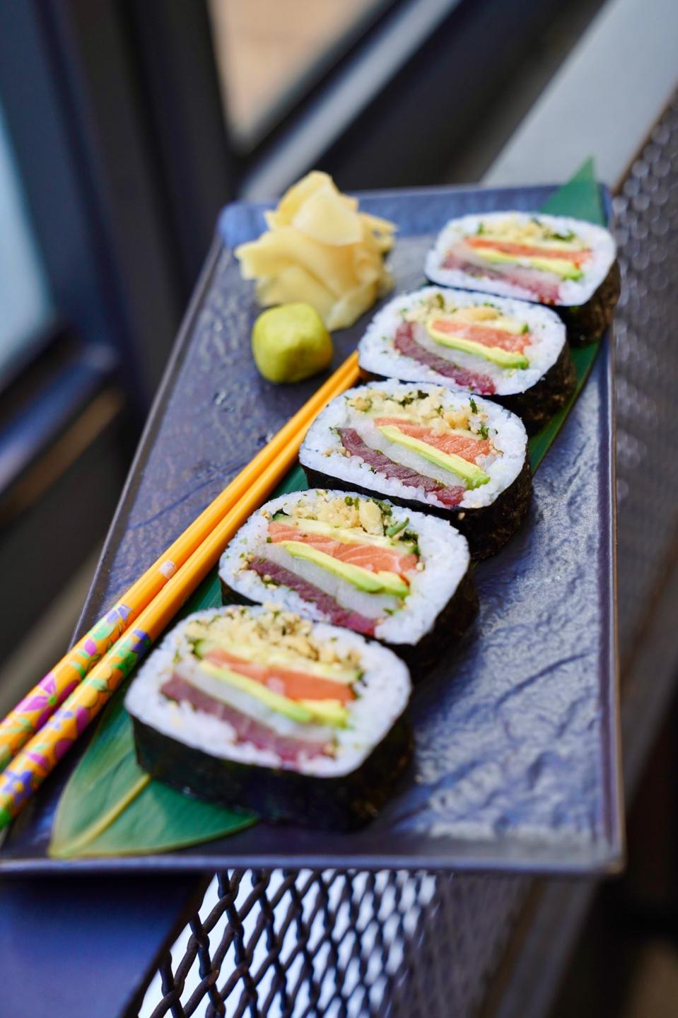 Though it offers a strong traditional menu in its own right, it also has a great sushi menu.