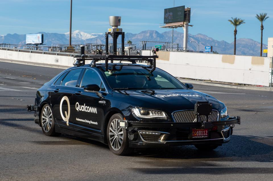 Robot car from Qualcomm