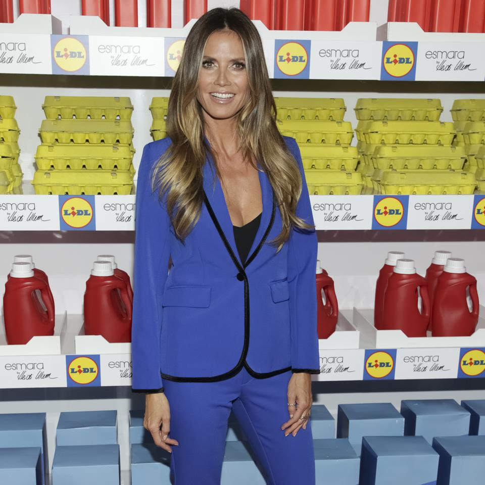 Lild is changing its brand image through its partnerships with people like Heidi Klum