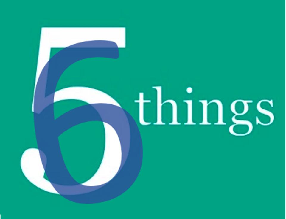 Six things graphic