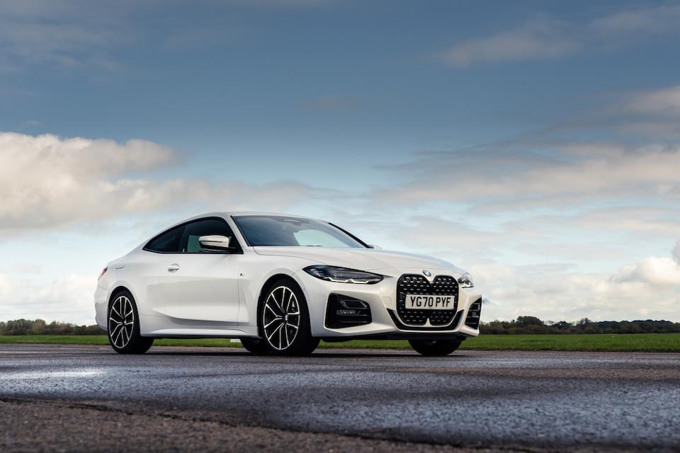Test Driving The New Bmw 4 Series Coupé