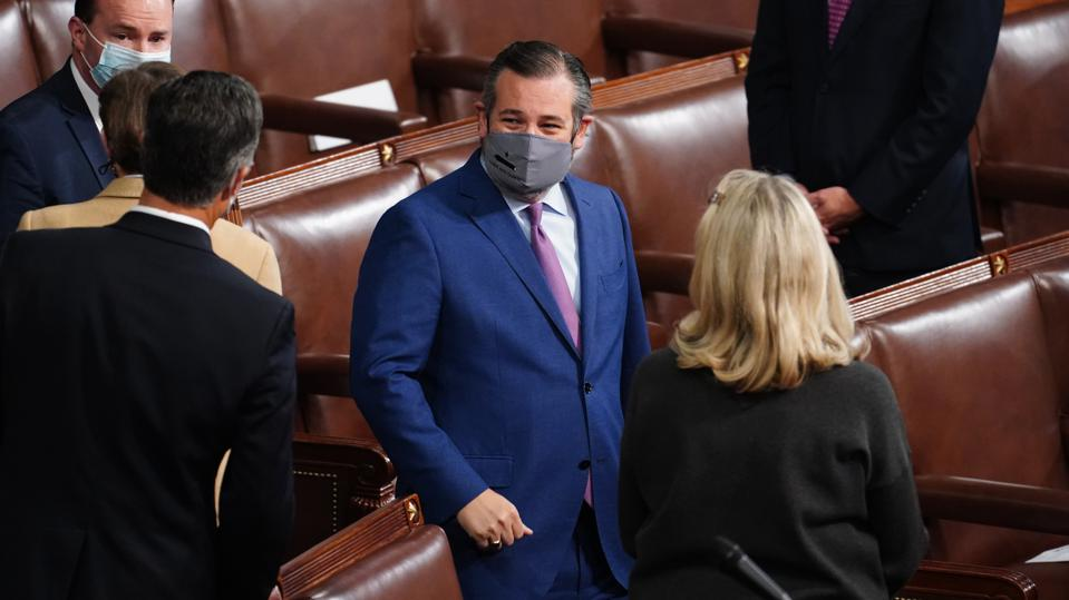 Ted Cruz at Congress Joint Session To Ratify 2020 Presidential Election