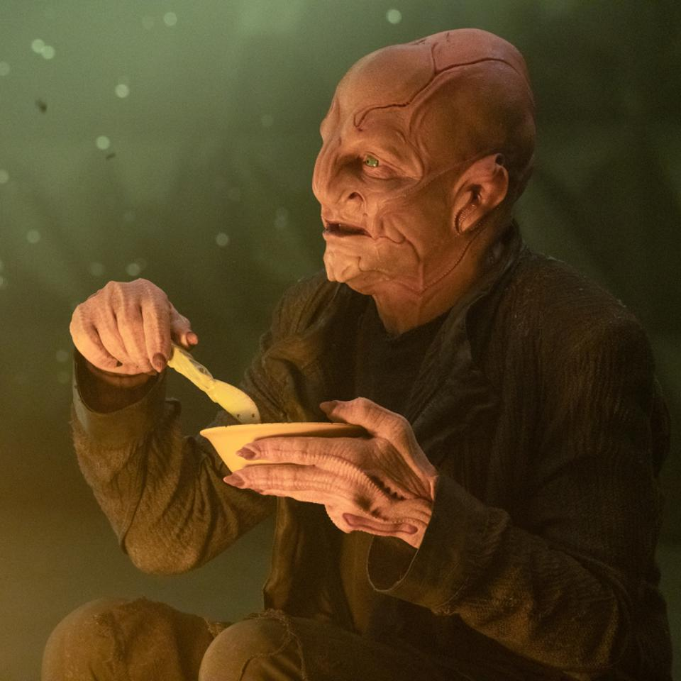 Bill Irwin plays the Kelpien Su'Kal in the Star Trek: Discovery episode, ″The Hope That is You, Part 2″