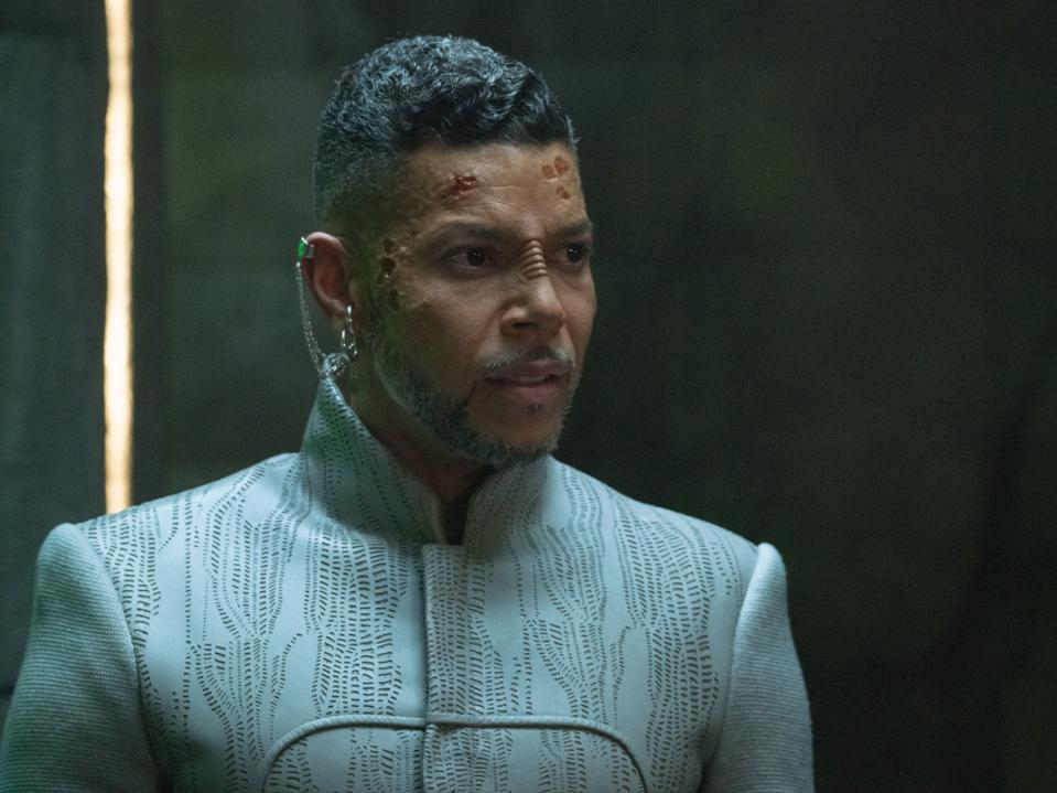 Wilson Cruz plays Dr. Hugh Culber in the Star Trek: Discovery episode, ″The Hope That is You, Part 2″
