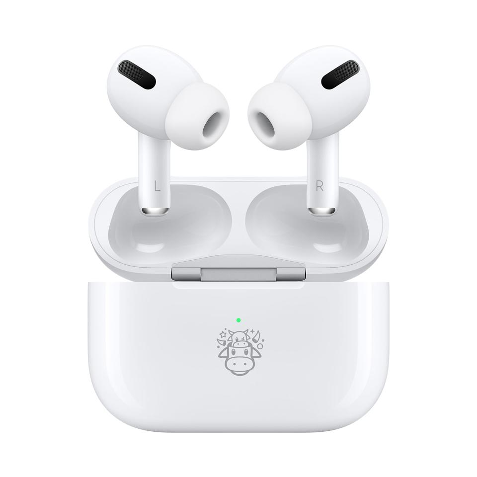The cute limited-edition Year of the Ox AirPods Pro.