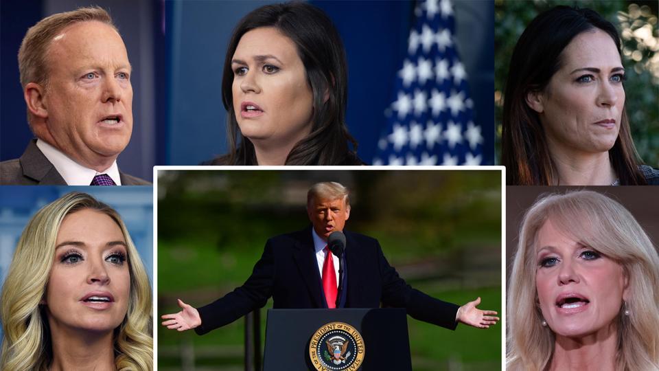 Trump press secretaries