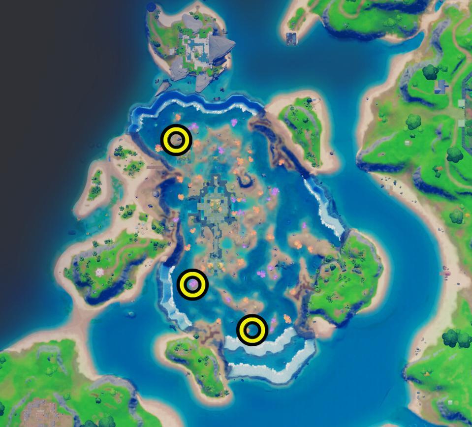Χάρτης για να προκαλέσετε φίλους στο Coral Buddies