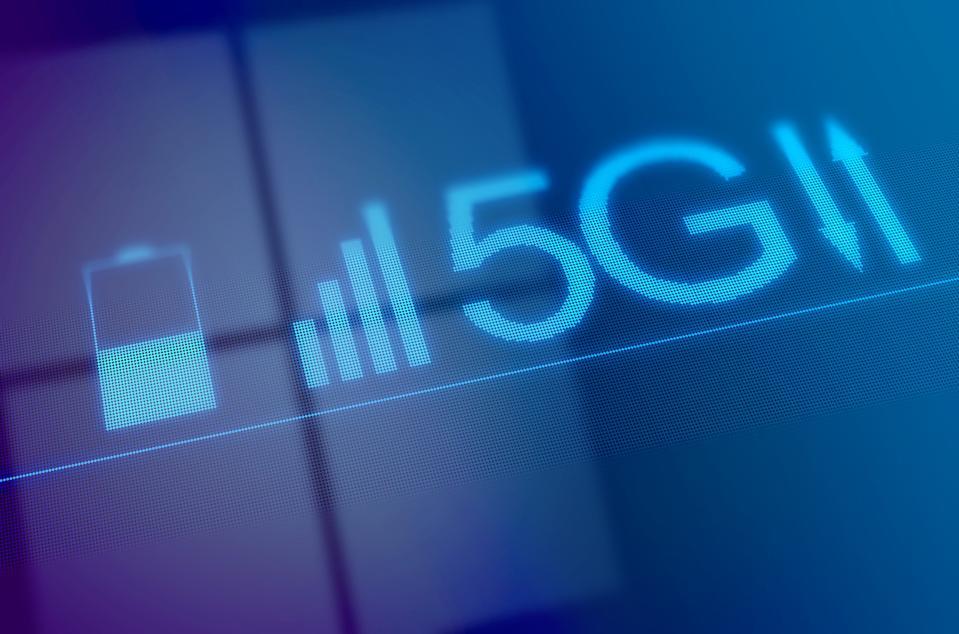 5G mobile network, illustration