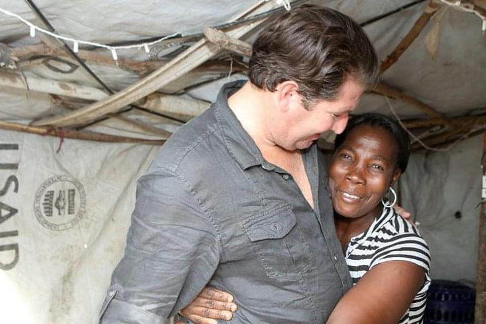 Michael Capponi in Haiti
