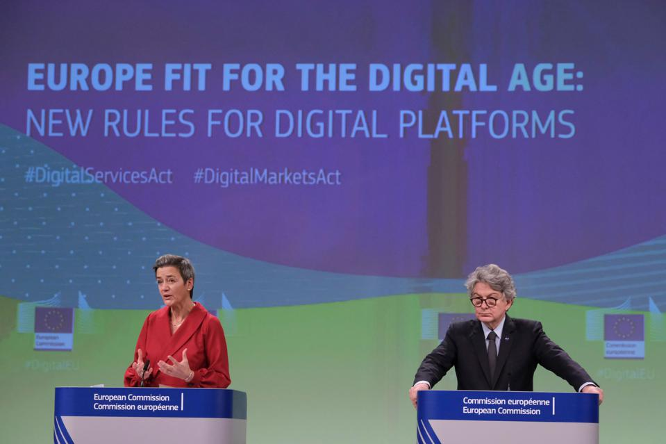 On 15 December, the EU unveiled the Digital Markets Act and the Digital Services Acts (DMA/DSA)
