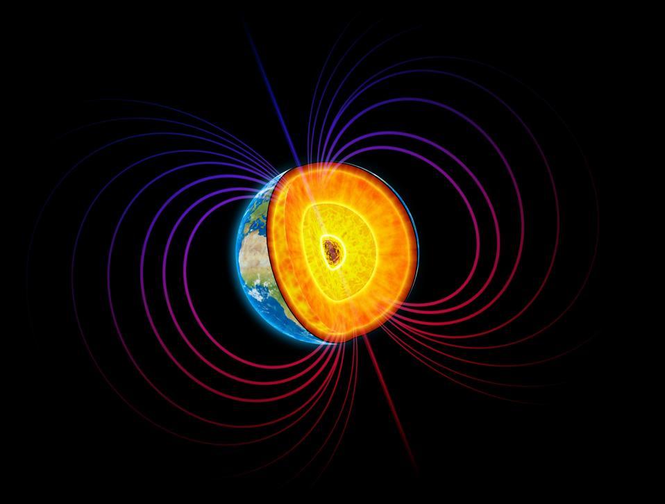 Earth's core, artwork