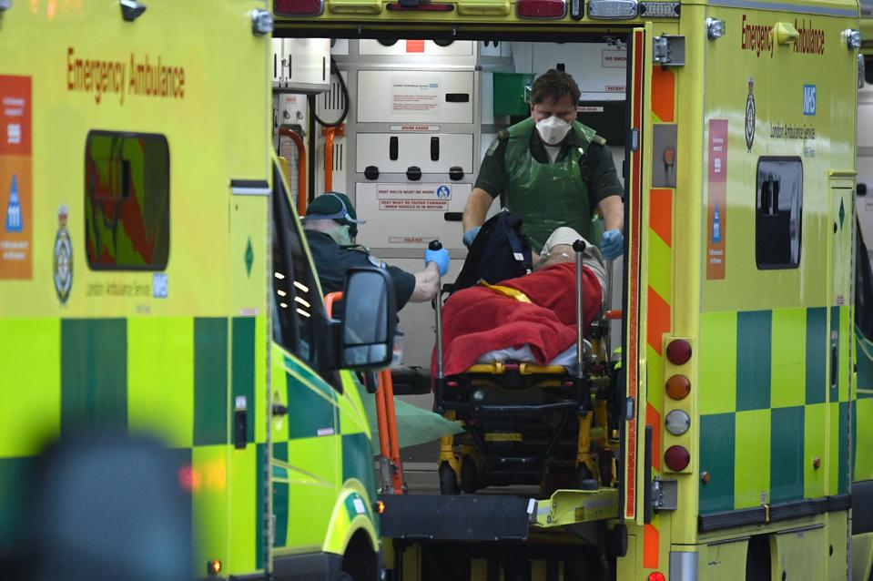 London Mayor Declares 'Major Incident' As London Hospitals Struggle To Cope With Rising Covid Cases