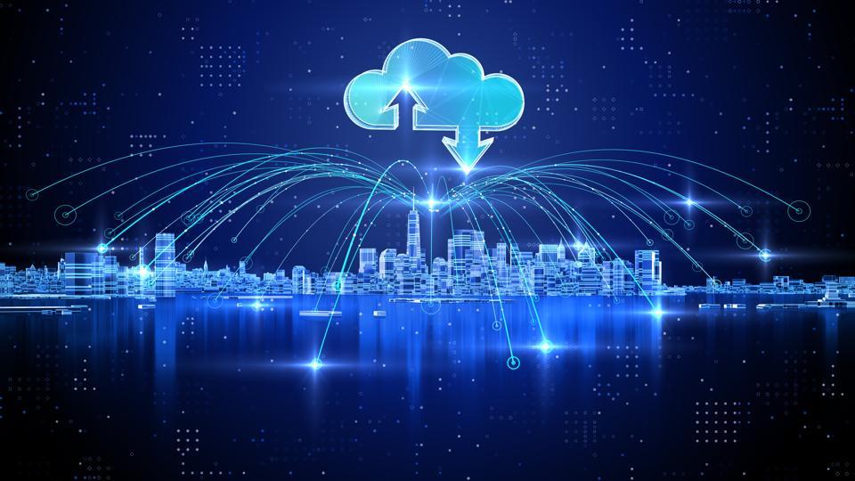 雲端的智慧城市
