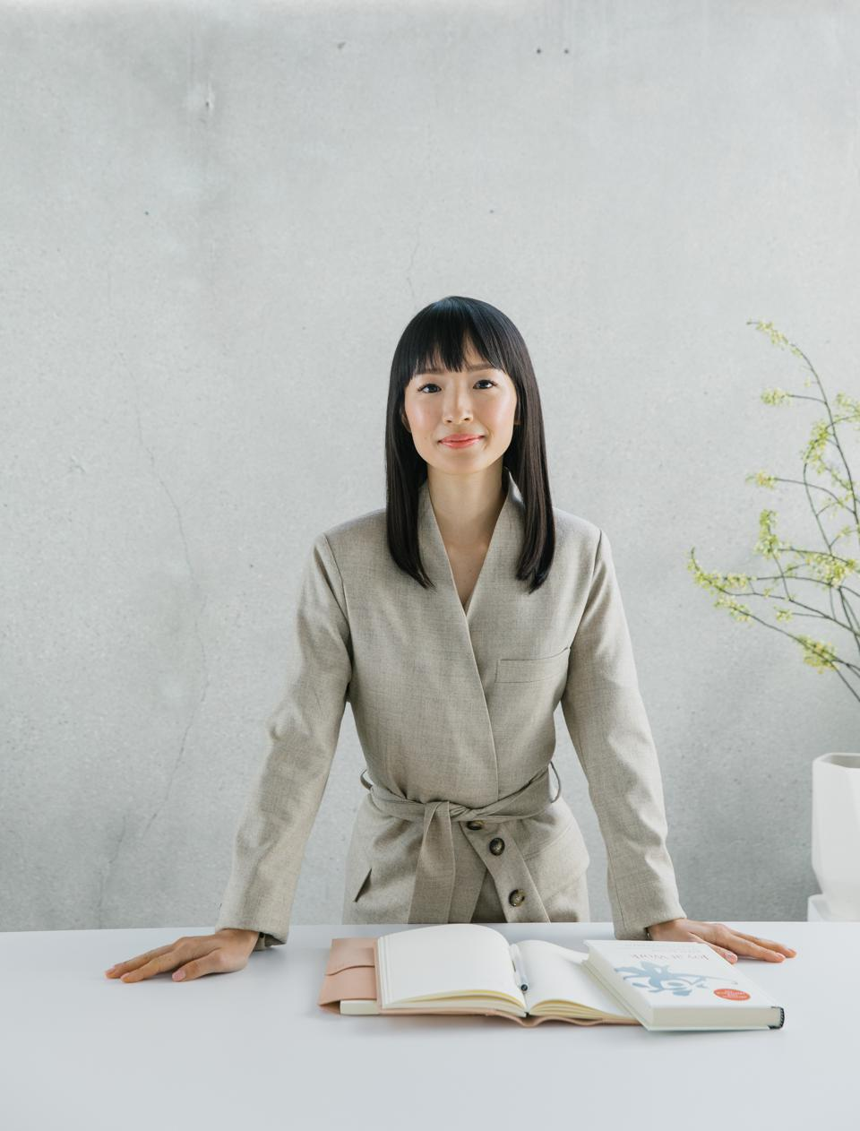Marie Kondo shows how to tidy up for joy and success in 2021.