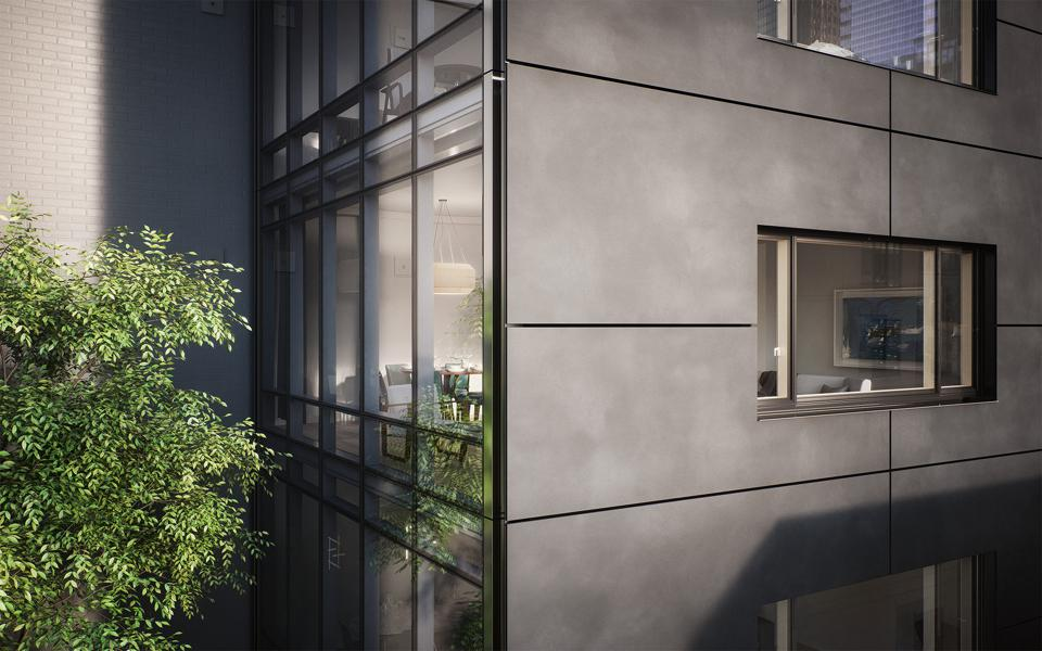 Residents will be able to enjoy greenery right outside their windows.