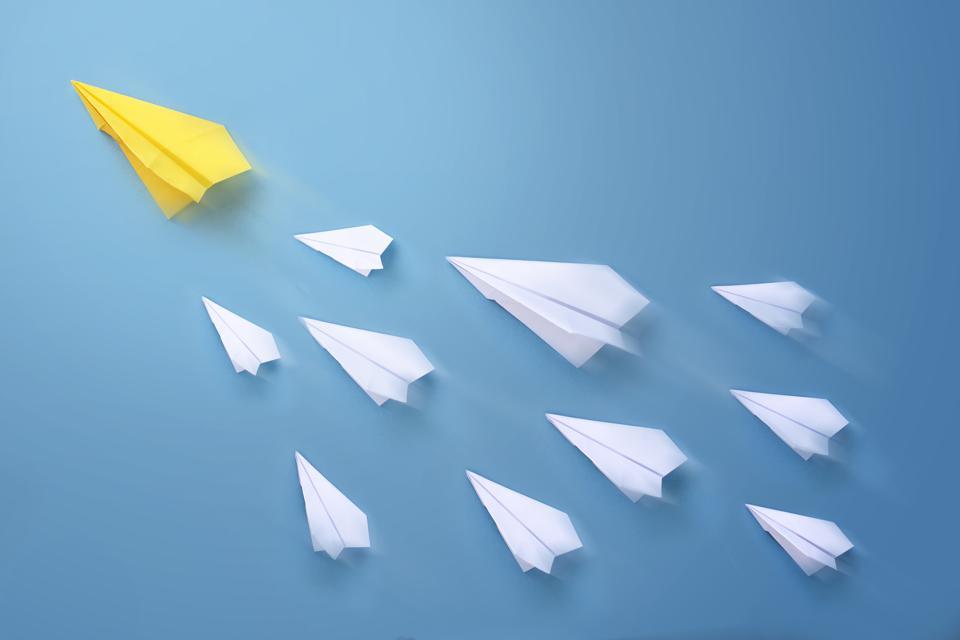 Leadership concept image.