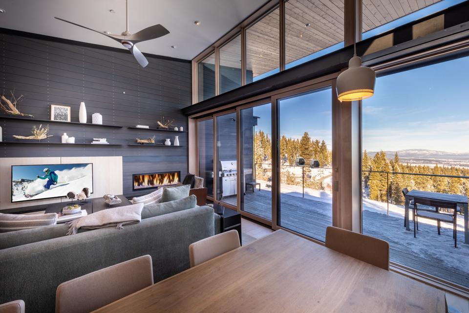 Northstar contemporary living room