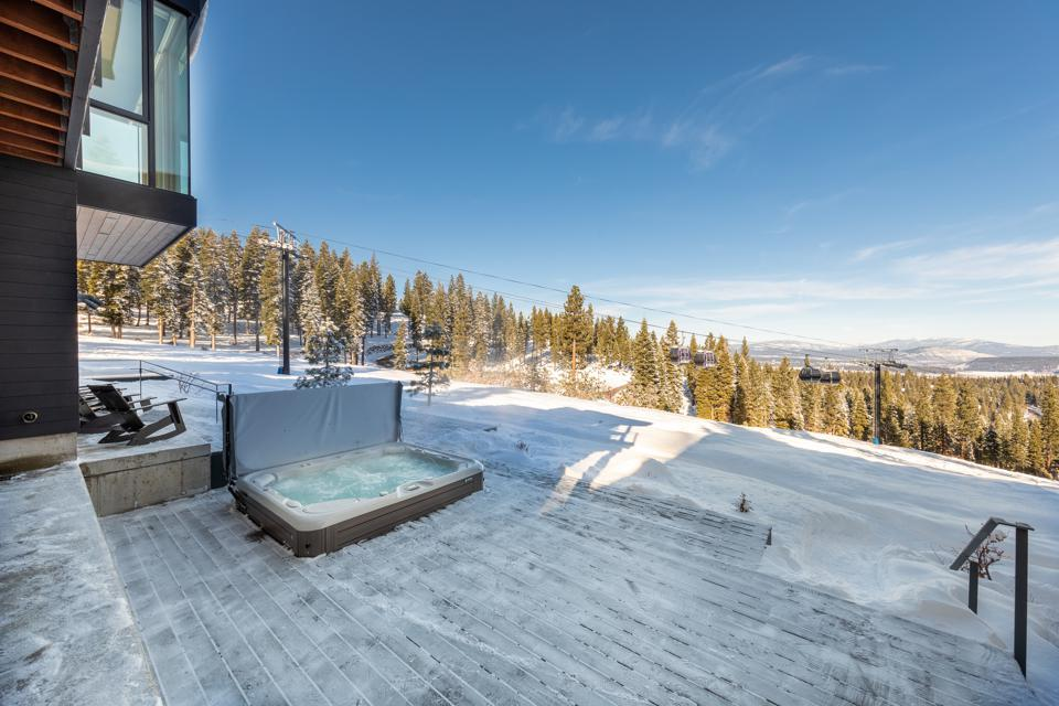 A spa in Truckee.