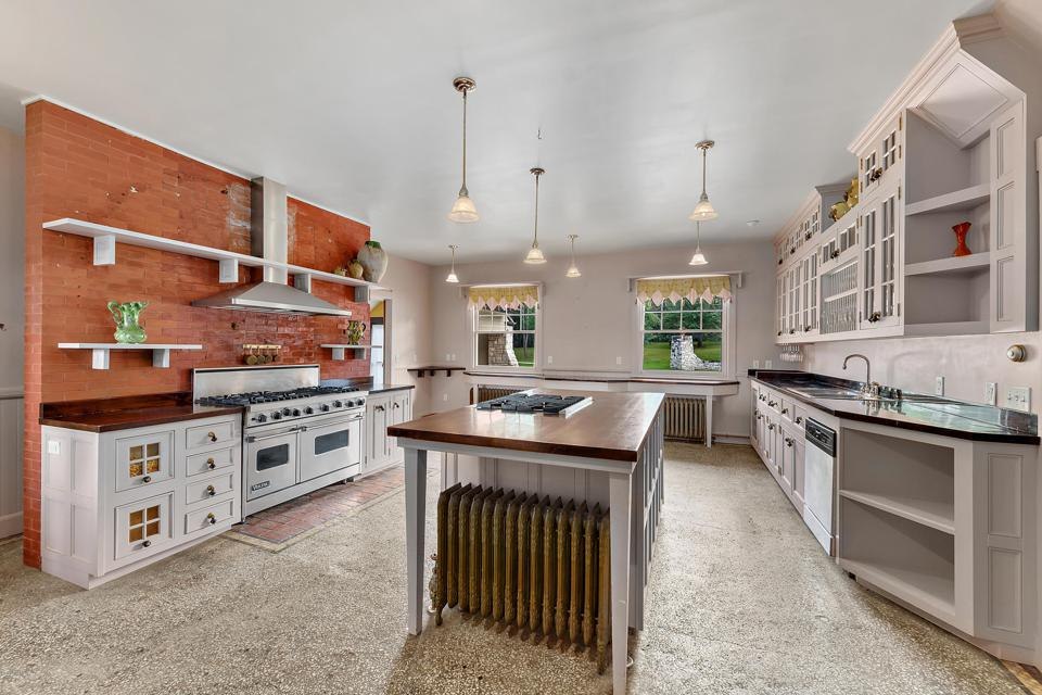 luxury kitchen with island