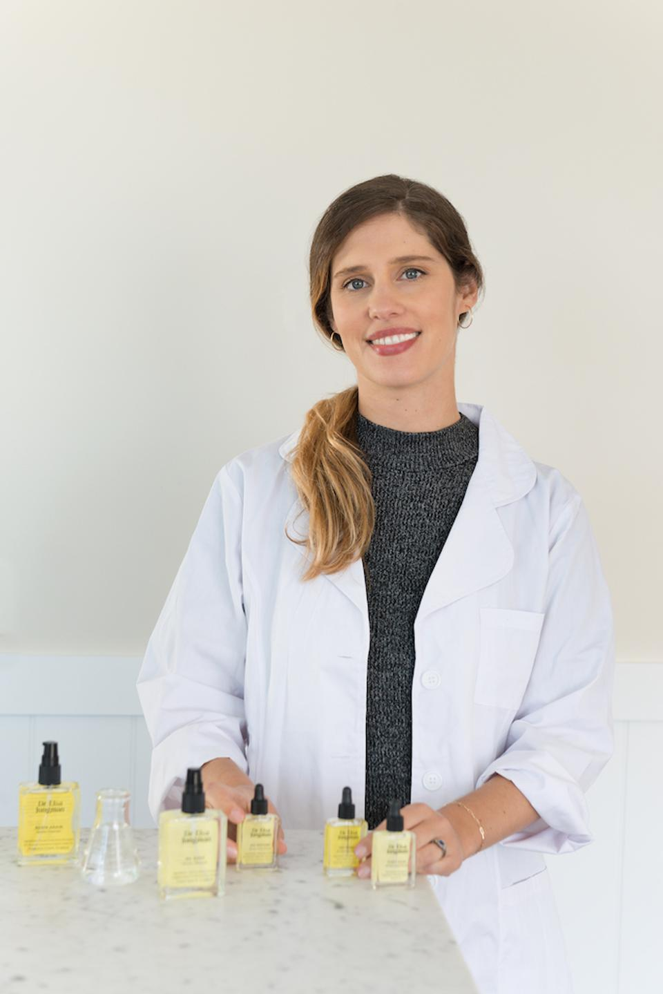 Skin specialist and micro-biome advocate Dr Elsa Jungman