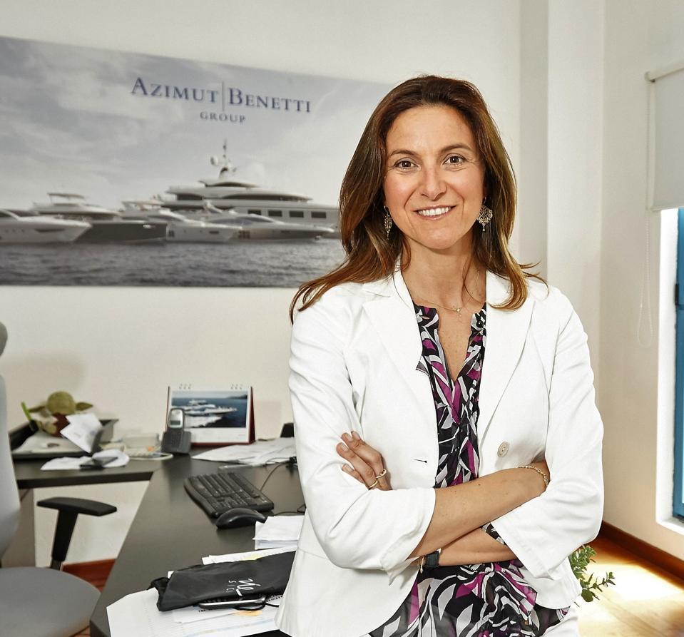 Giovanna Vitelli, Executive Vice President Azimut Benetti Group Group