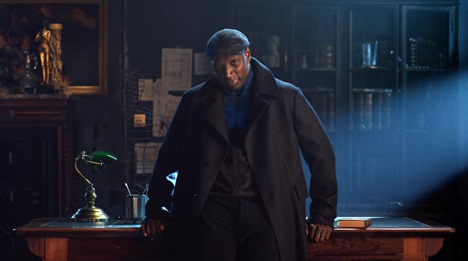 Omar Sy as Assane Diop in Netflix's series 'Lupin'
