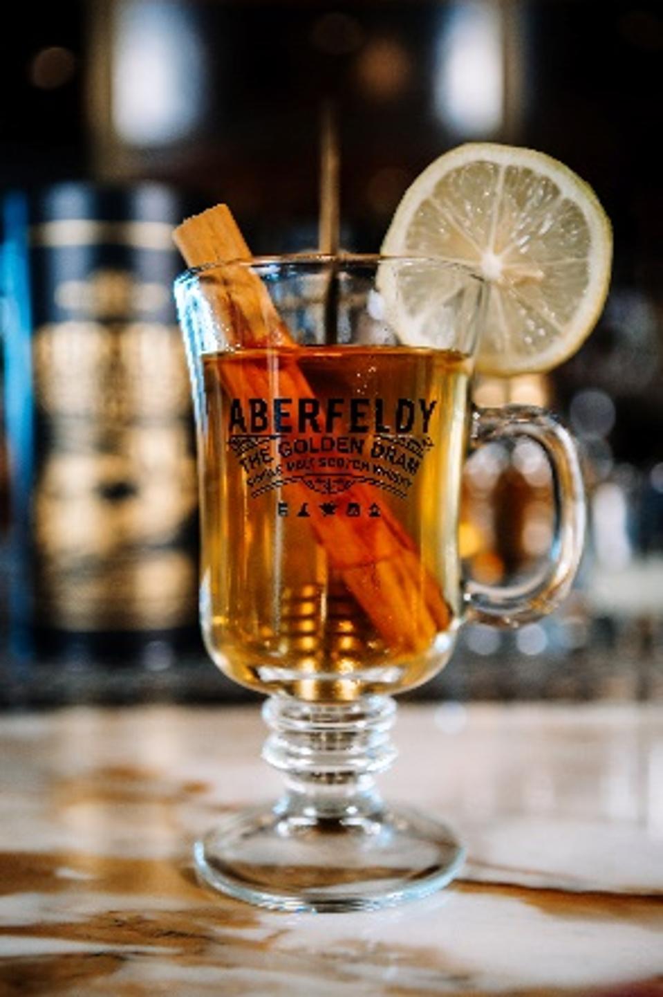 Aberfeldy Golden Hot Toddy