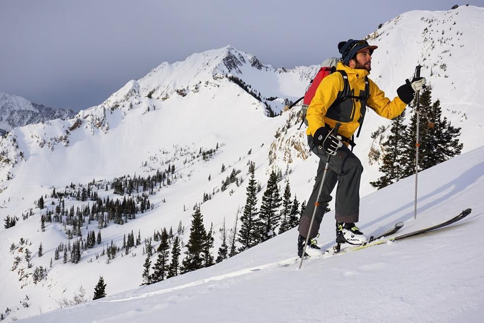 AT skier