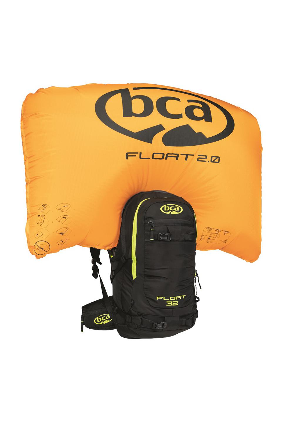 Avalanche airbag pack